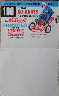 For Sale 1965 Frosties Pirate Treasure Competition stock order form (4)