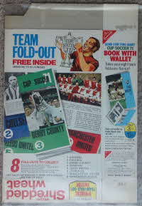For Sale 1971 Shredded Wheat Team Fold Out (1)