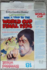 For Sale 1973 Shredded Wheat World Cup Final Seats 1974 (2)