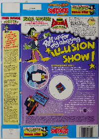 For Sale 1989 Shreddies Count Duckula Illusion Show, Scratchgame & Duckula Mug, Video & WallPoster (2)
