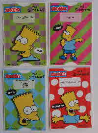 For Sale 1991 Shreddies Simpson Slogan Sliders