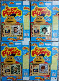 For Sale 1994 Sugar Puffs Flinstones Stickers (1)