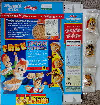 For Sale 1997 Rice Krispies Spoon Toppers