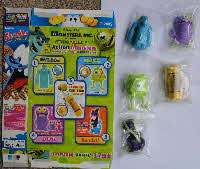 For Sale 2002 Shreddies Monsters Inc Hanging Action Monsters (1)