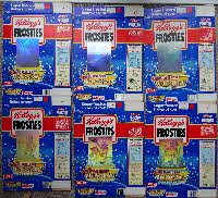 for sale 1990 Frosties Holograms Tony Tiger set (2)