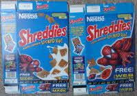 for sale 2002 Shreddies Spiderman Web Shooter & mask (1)
