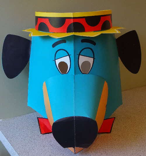 1964 Coco Pops Huckleberry Hound Mask (8)
