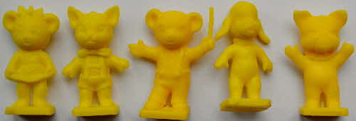 1973 Coco Krispies Rice Sooty & Friends Models - yellow