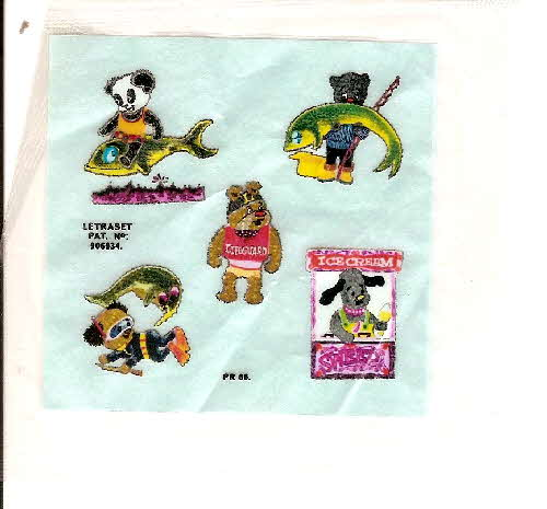 1971 Coco Krispies Sooty by the Sea Transfer