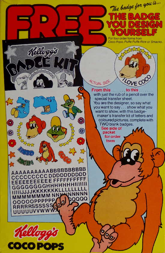 1982 Coco Pops Badge Kit (1)
