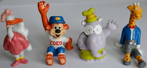 1988 Coco Pops Coco & Friends Models (1)