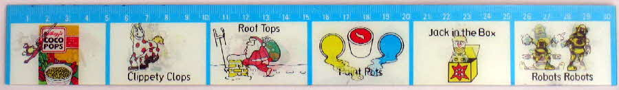 1984 Coco Pops Flikka Ruler
