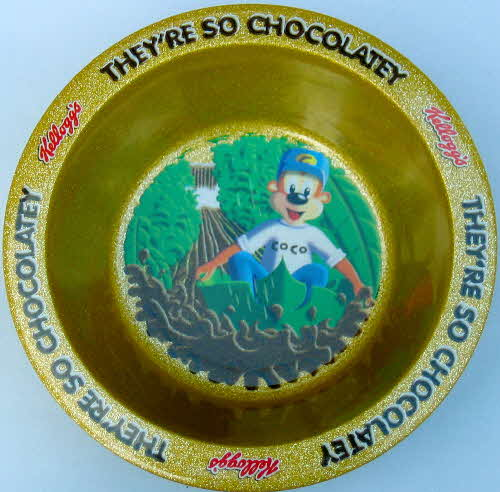 1999 Choco Krispies Coco Monkey Collection - cereal bowl