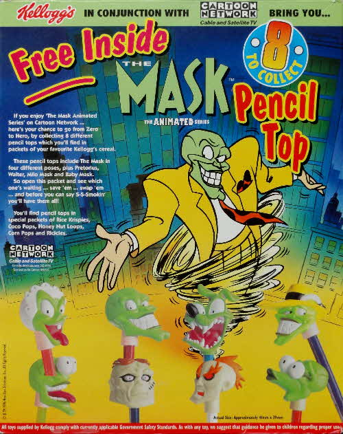 1996 Coco Pops Mask Pencil Tops