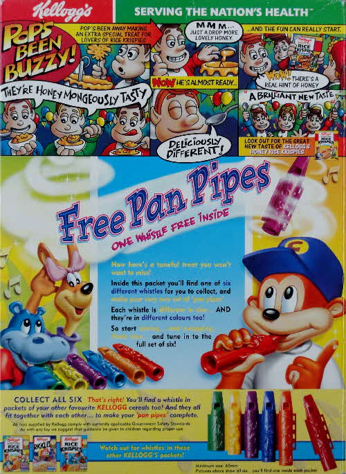 1999 Choco Krispies Pan Pipes 2