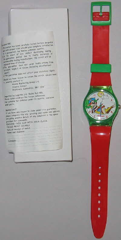 1999 Choco Krispies Coco Monkey Collection - watch