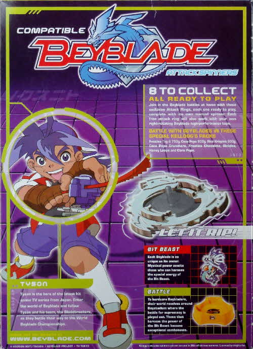 2002 Coco Pops Beyblade advert