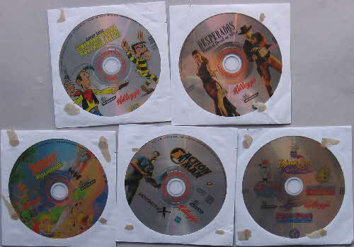 2001 Frosties Mini CD Rom Games