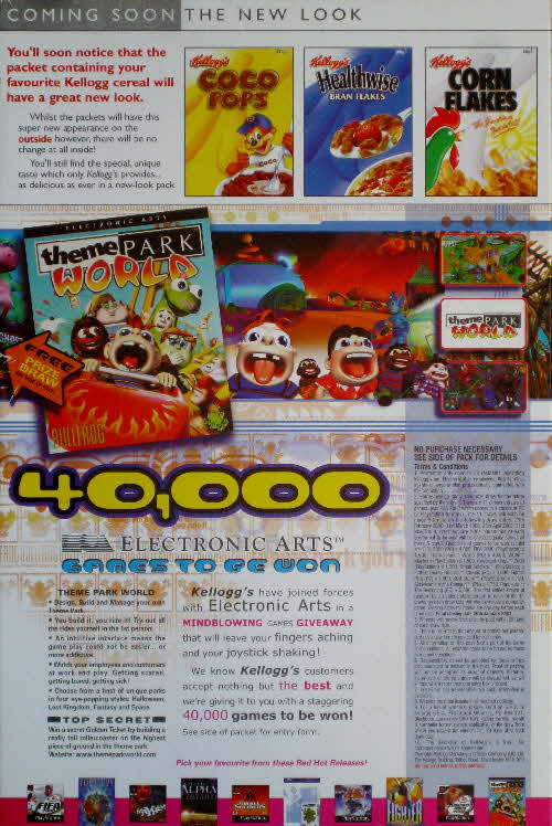 2000 Coco Pops EA Games competition