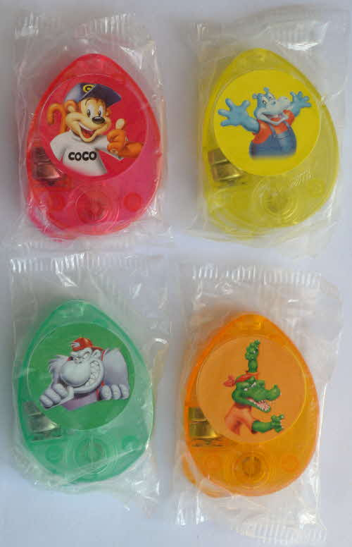 2005 Coco Pops Character Torches mint (1)