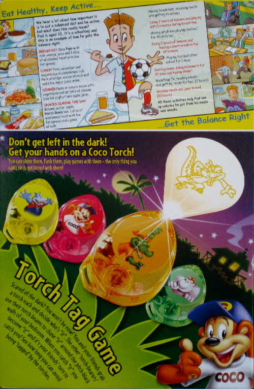 2005 Coco Pops Character Torches