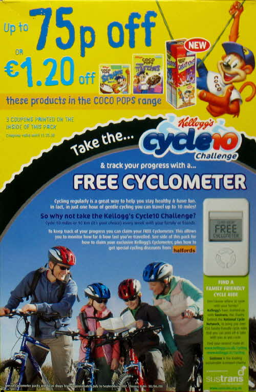 2007 Coco Pops Free Cyclometer (2)