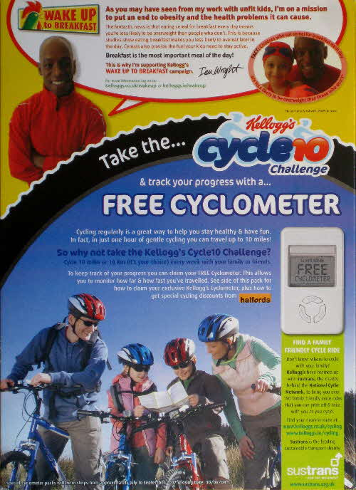2007 Coco Pops Free Cyclometer