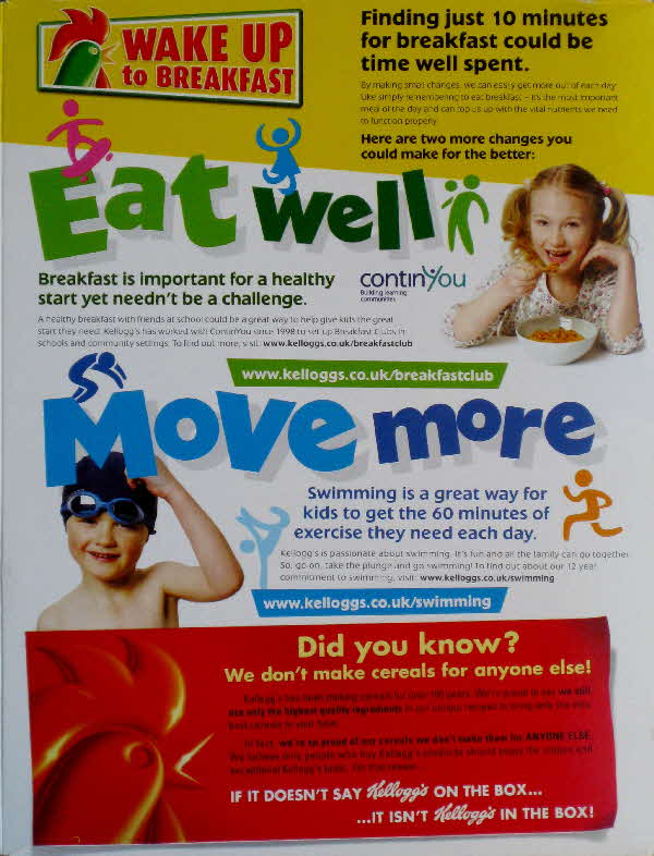 2009 Coco Pops Eat Well Move More