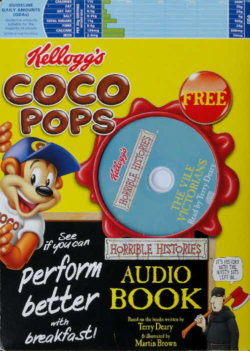 2005 Coco Pops Horrible History Audio Books front (1)