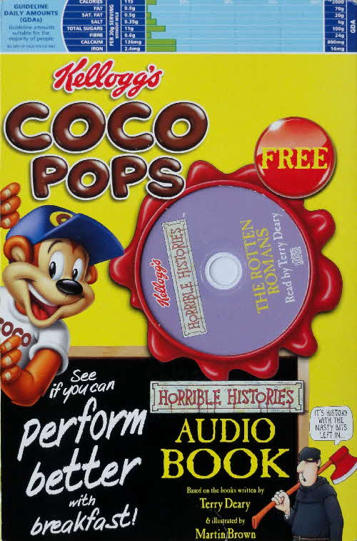 2005 Coco Pops Horrible History Audio Books front (2)