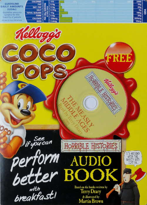 2005 Coco Pops Horrible History Audio Books front (3)