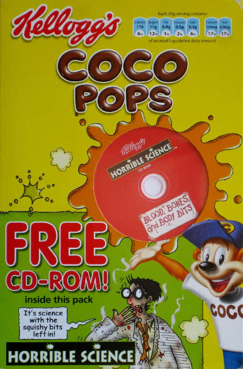 2006 Coco Pops Horrible Science CD Rom (1)