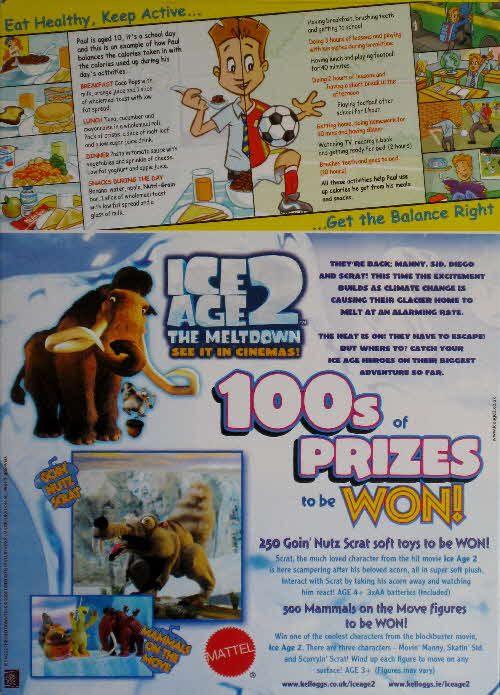 2006 Coco Pops Ice Age 2 competition