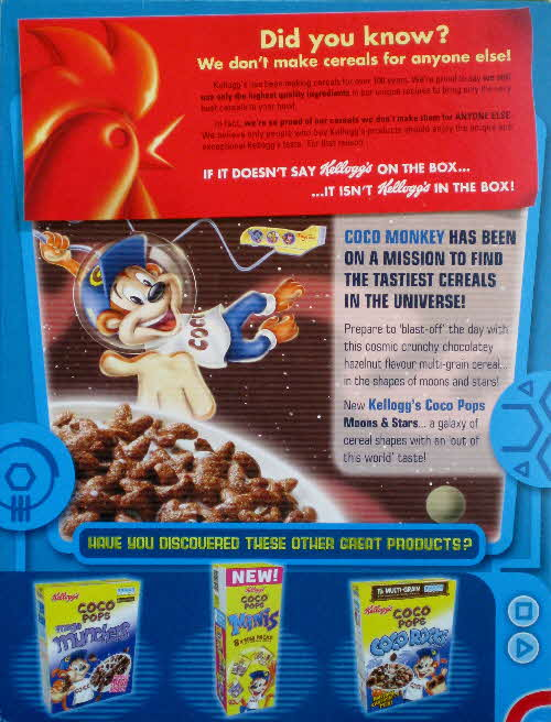 2008 Coco Pops Did you Know