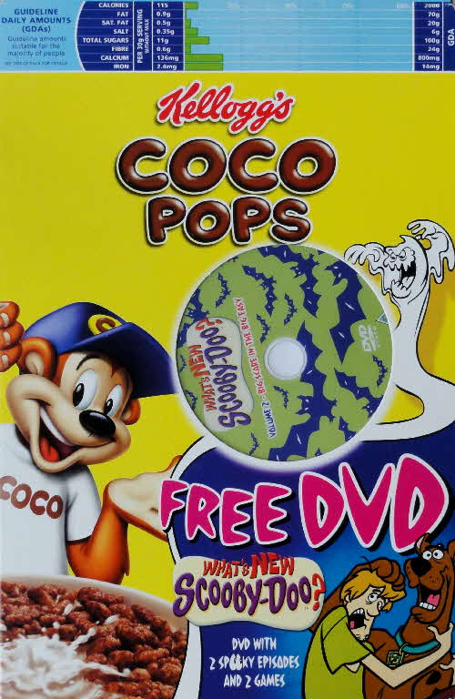 2005 Coco Pops Scooby Doo DVD front (2)
