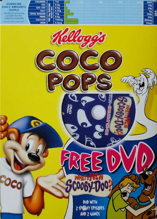 2005 Coco Pops Scooby Doo DVD front (3)
