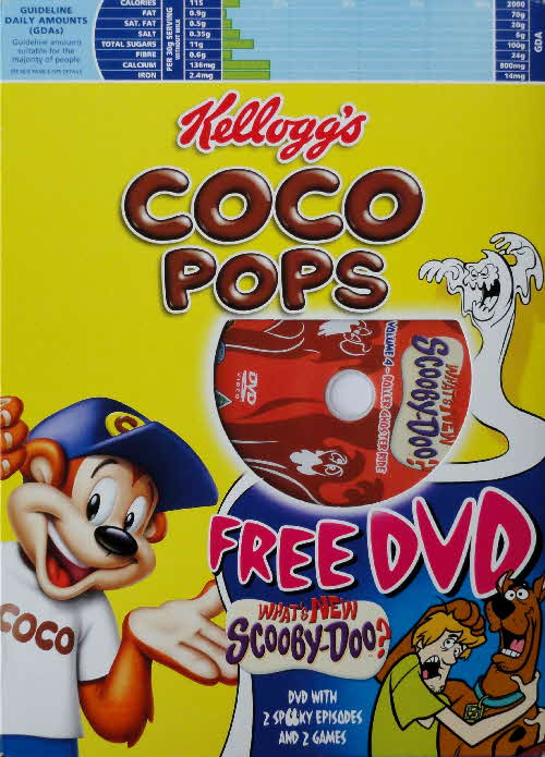 2005 Coco Pops Scooby Doo DVD front (4)