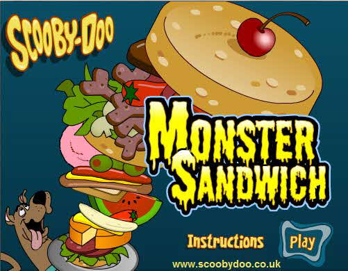 2005 Scooby Doo DVD 4 - Monster Sandwich
