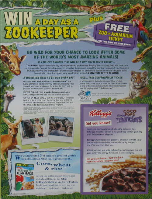 2008 Coco Munchers Zookeeper for a Day competition