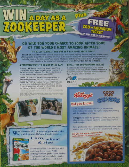 2008 Coco Rocks Zookeeper for a Day competition