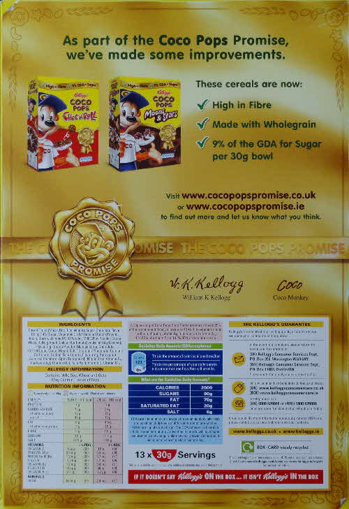 2011 Coco Pops Promise