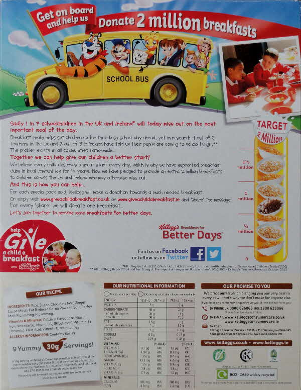 2014 Coco Pops Give a Child a Breakfast