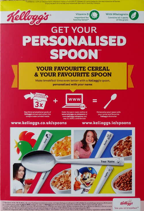 2015 Coco Pops Crocs Personalised Spoons Reissue  (1)