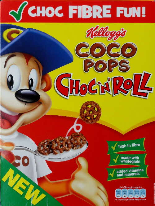 2010 Coco Pops Choc n Roll New front