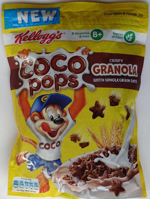 2017 Coco Pops Granola Cereal New (2)