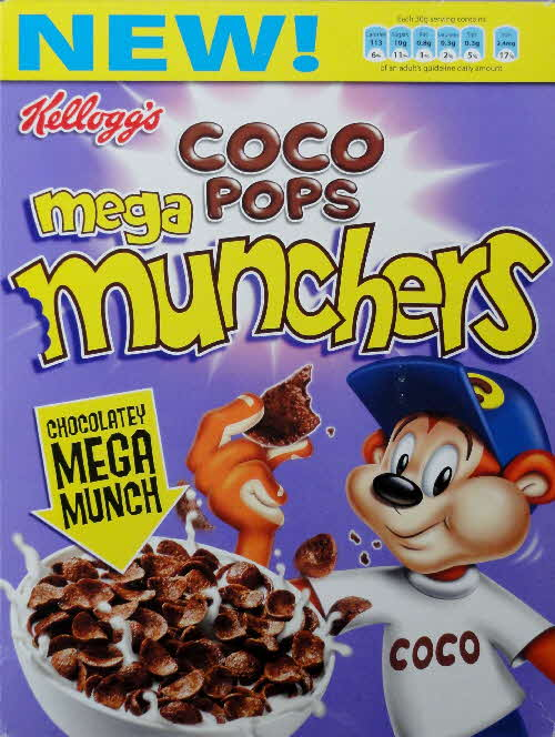 2006 Coco Mega Munchers New front