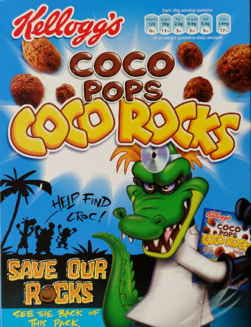 2006 Coco Rocks Save our Rocks front