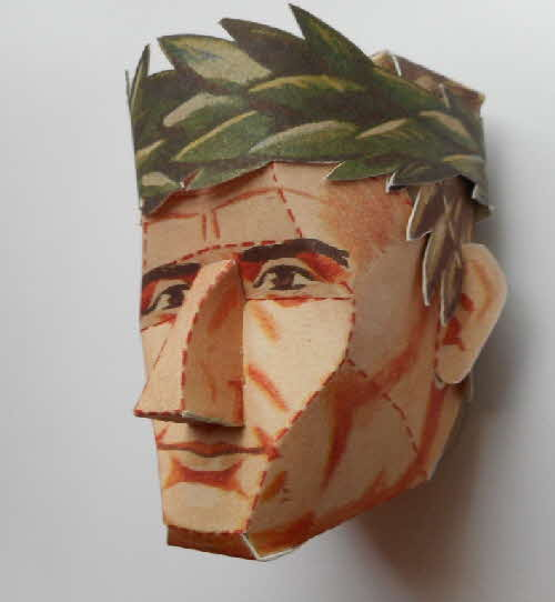 1966 Cornflakes Heads of Fame No 1 Julius Caesar made (1)
