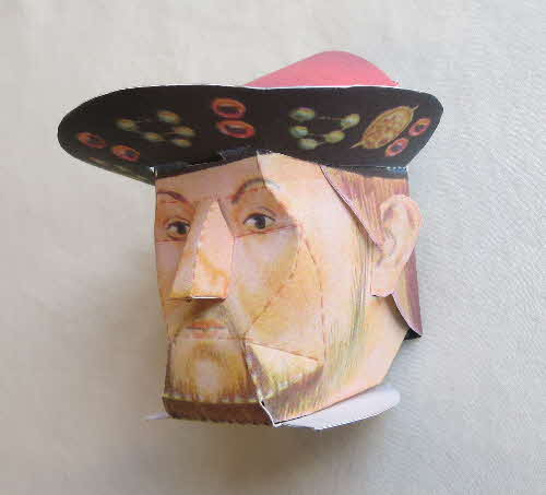 1966 Cornflakes Heads of Fame No 3 Henry viii1