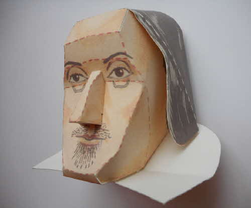 1966 Cornflakes Heads of Fame No 5 William Shakespeare made (3)